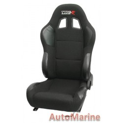 Reclining Racing Seat - Black