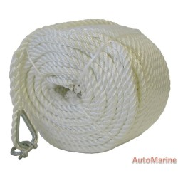 Anchor Rope - Polyester - 8mm x 50m