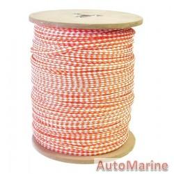 Ski Rope - Orange/White - 12mm x 280m