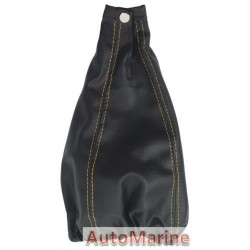 Gear Boot Cover - Black / Yellow