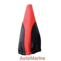Gear Boot Cover - Black / Red
