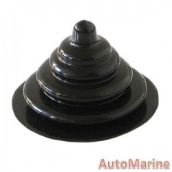 Gear Boot Cover - Black - Round - Small
