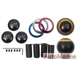 Aluminium Gear Knob - Black