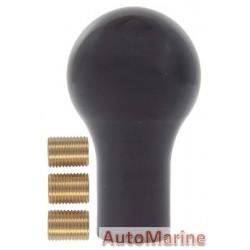 Gear Knob - Black - Tread Type 7.10mm