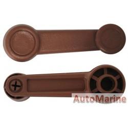 Mazda 323 Window Winder Handle - Brown
