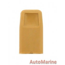 Square Door Lock Pins for Toyota Hilux / HiAce / Corolla- Brown