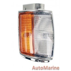 Toyota Hilux [1984 - 1987] Corner Lamp (Chrome) - Left