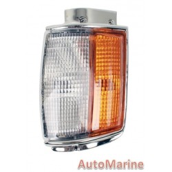 Toyota Hilux [1984 - 1987] Corner Lamp (Chrome) - Right