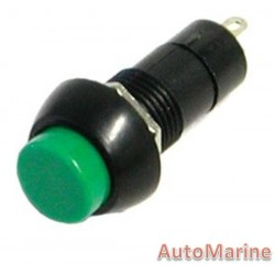 Button Switch - Round - Green