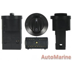 Head Lamp Switch for Volkswagen Polo [2003 ►] with Fogs