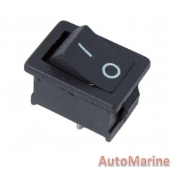 Rocker Switch - Black - Mini