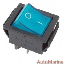 Rocker Switch - Blue
