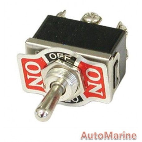 Toggle Switch - On / Off / On with Return