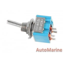 Toggle Switch - Mini - On / Off - 4 Pin
