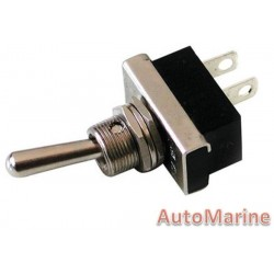 Toggle Switch - On / Off - Metal