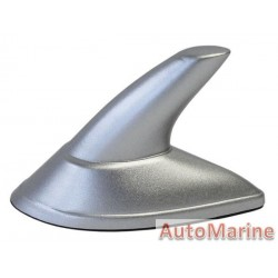 Imitation Mini Shark Fin Aerial - Silver