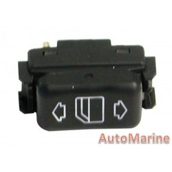 Mercedes Benz [W124] Electric Window Switch - Left (Front / Rear)