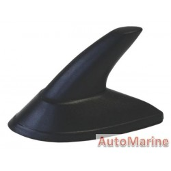 AERIAL IMITATION MINI SHARKS FIN BLACK