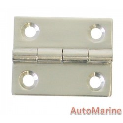 Butt Hinge - 316 Stainless Steel - 30mm x 25mm