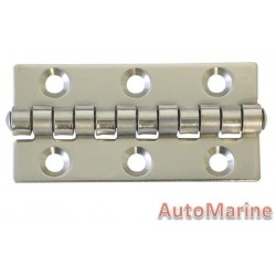 Butt Hinge - 316 Stainless Steel - 58mm x 30mm