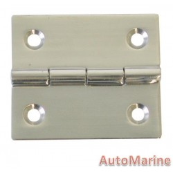 Butt Hinge - 316 Stainless Steel - 40mm x 35mm