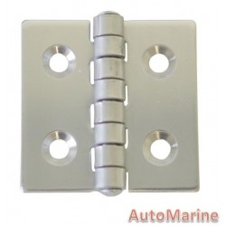 Butt Hinge - 316 Stainless Steel - 40mm x 40mm