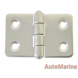Butt Hinge - 316 Stainless Steel - 60mm x 40mm