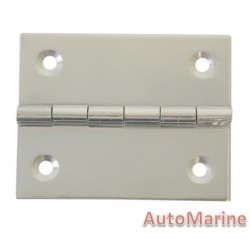 Butt Hinge - 316 Stainless Steel - 49mm x 40mm
