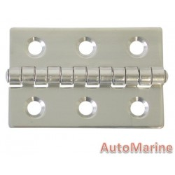 Butt Hinge - 316 Stainless Steel - 59mm x 40mm