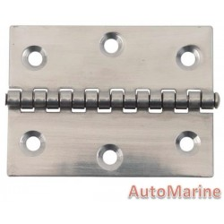 Butt Hinge - 316 Stainless Steel - 79mm x 60mm