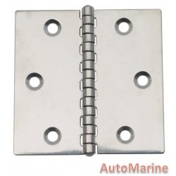 Butt Hinge - 316 Stainless Steel - 79mm x 79.2mm