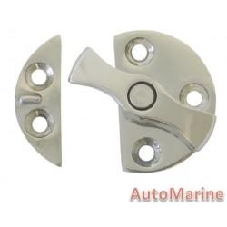 Stainless Steel Door Button - 45mm