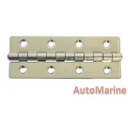 Door Hinge - 100mm x 39mm x 1.2mm - Stainless Steel