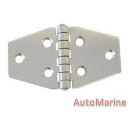 Door Hinge - 71mm x 40mm - Stainless Steel