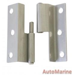 Door Hinge - 55mm x 37.5mm - Stainless Steel