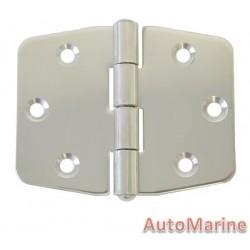 Door Hinge - 74mm x 60mm - Stainless Steel
