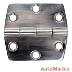 Door Hinge - 70mm x 74mm - Stainless Steel