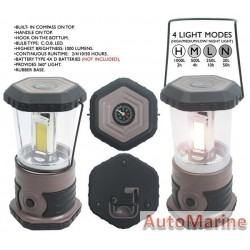 Camping Lantern - 3COB LED Light with Compass
