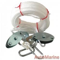 Nylon Hoist with Polypropylene Rope