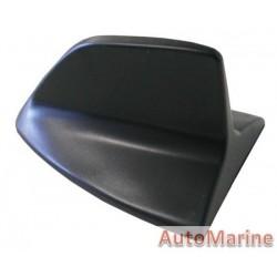 AERIAL IMITATION SHARK FIN BLACK