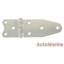 Short Side Hinge - 130mm x 40mm - 316 Stainless Steel