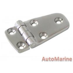 Door Hinge - 76mm x 37mm - Stainless Steel