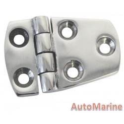 Door Hinge - 66mm x 40mm - Stainless Steel