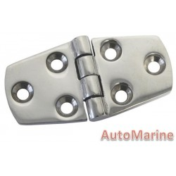 Door Hinge - 75mm x 62mm - Stainless Steel