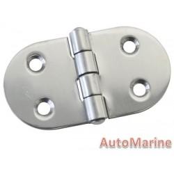Door Hinge - 75mm x 40mm - Stainless Steel