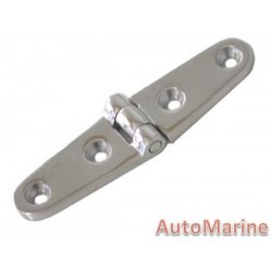 Strap Hinge - 100mm x 25mm - Stainless Steel
