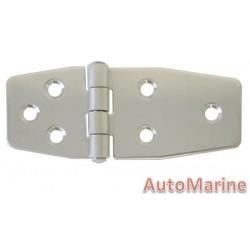 Locker Hinge - 97mm x 40mm - Stainless Steel