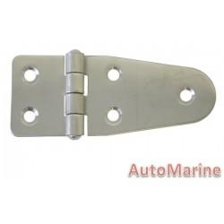 Door Hinge - 100mm x 40mm - Stainless Steel
