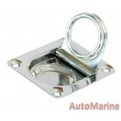 Pull Ring - 55mm x 65mm - Stainless Steel