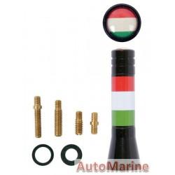 AERIAL MAST 6CM ITALY FLAG